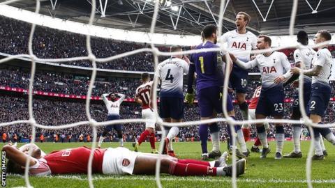 Pierre-Emerick Aubameyang, Arsenal, Hugo Lloris, Harry Kane, Tottenham Hotspur