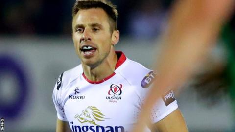 British and Irish Lions wing Tommy Bowe has made 138 appearances for Ulster