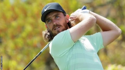 Tommy Fleetwood paired with Tiger Woods at the Masters
