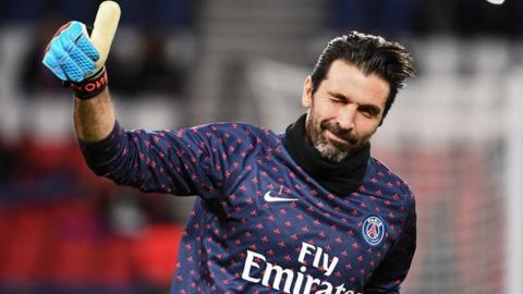 Gianluigi Buffon returns to Juventus after one season at Paris St-Germain