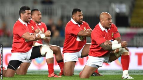 Tonga have not beaten Wales in their eight previous encounters