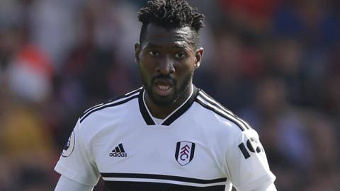 Andre-Frank Zambo Anguissa in action for Fulham
