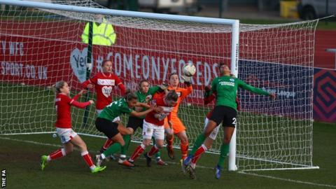 Neither side was able to break the deadlock in a hard-fought affair at Bristol City's Stoke Gifford Stadium