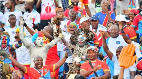 DR Congo fans