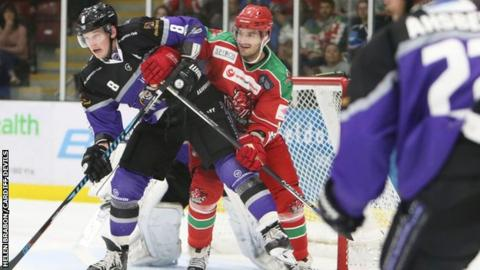 Braehead lost heavily on their first visit to Ice Arena Wales