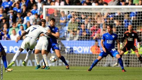 N'Golo Kante scores for Chelsea