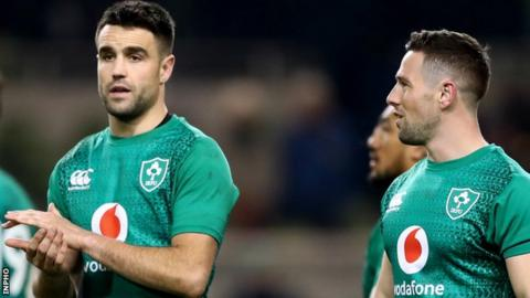Conor Murray and John Cooney are vying for the starting spot in Saturday's game against Wales