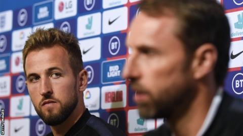 Harry Kane and Gareth Southgate spoke to the media on Sunday