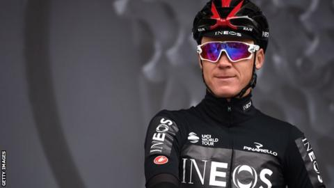 Chris Froome taken to hospital with 'suspected broken pelvis' following Dauphine crash
