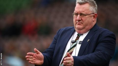 Harlequins director of rugby John Kingston