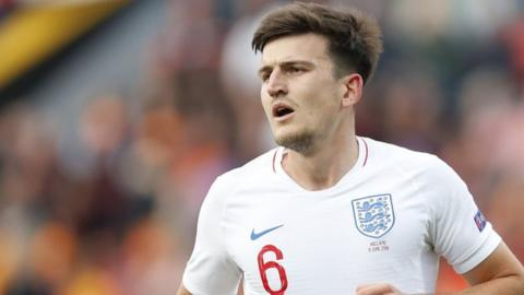 Man United table £70m Maguire offer