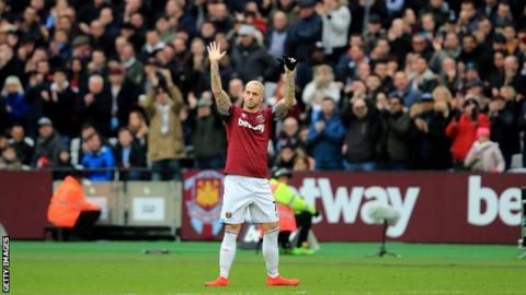 China move off for West Ham attacker Arnautovic