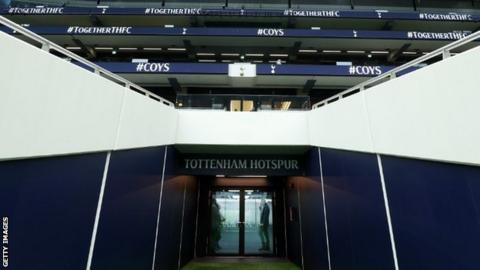 Tottenham initially announced on 31 March they were furloughing some staff