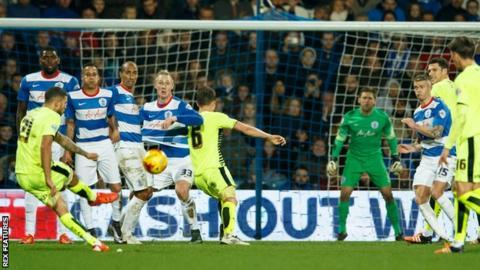 Nakhi Wells scores for Huddersfield