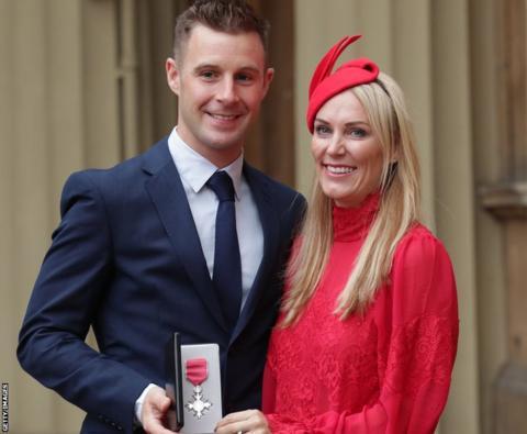 Jonathan Rea and wife Tatia
