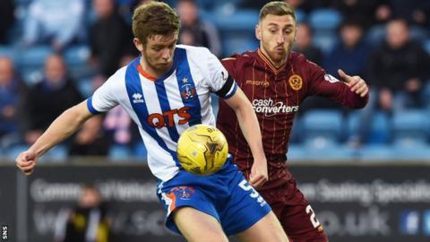 Motherwell defeat Kilmarnock