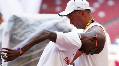 Alberto Salazar and Mo Farah