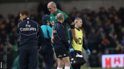 Ringrose and Toner ruled out of Ireland´s clash with Scotland