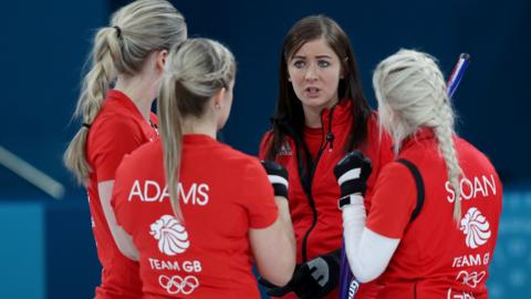 British women's curling team