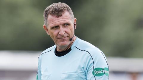 Scottish referee John McKendrick