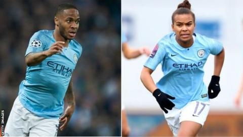 Raheem Sterling and Nikita Parris have starred for Manchester City this season