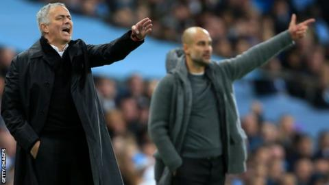"""Mourinho (left) has questioned the """"clarity"""" of Financial Fair Play rules"""