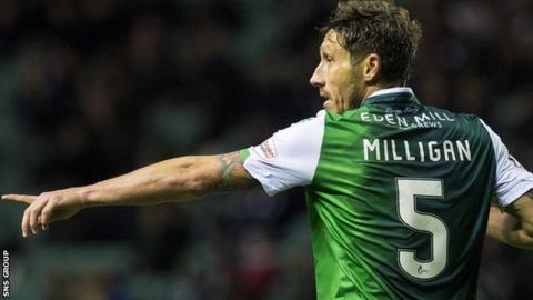 Mark Milligan is leaving Hibs halfway through a two-year contract