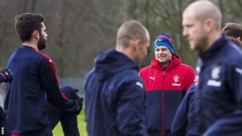 Rangers in training