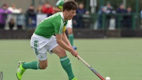 Lisnagarvey's Matthew Nelson was on target for Ireland against Austria