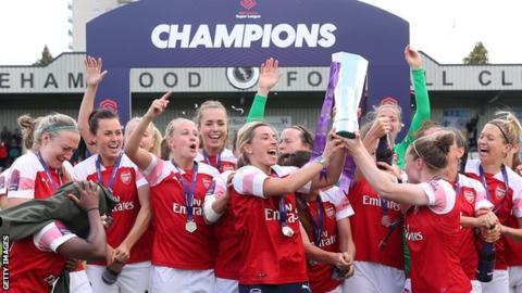 Arsenal win WSL title