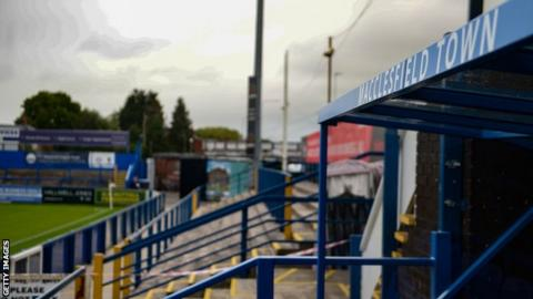 General shot at Macclesfield Town's ground