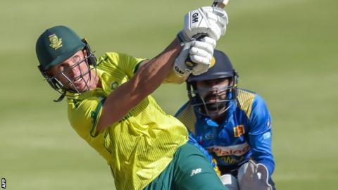 Dwaine Pretorius bats for South Africa