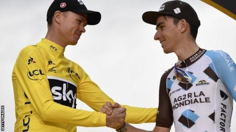 Bardet wants Froome to not race until 'adverse' test resolution