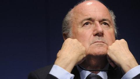 Sepp Blatter has been president since 1998