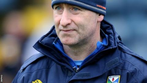 McGleenan guided Cavan to promotion from Division Two of the Football League in March