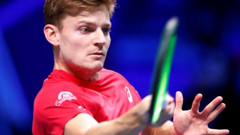 Belgium's David Goffin