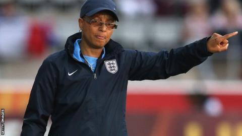 Former England coach Hope Powell