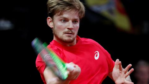 Belgium's David Goffin