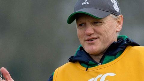 Joe Schmidt succeeded Declan Kidney as Irish coach on 2013