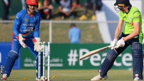 Afghanistan seals T20 series win against Ireland