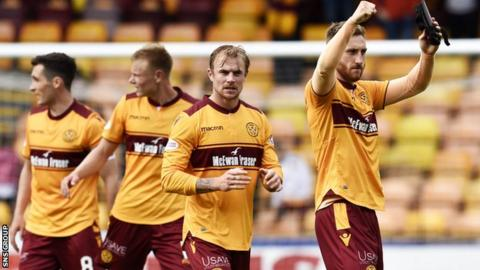 Motherwell have won two and lost two from their opening league games this season