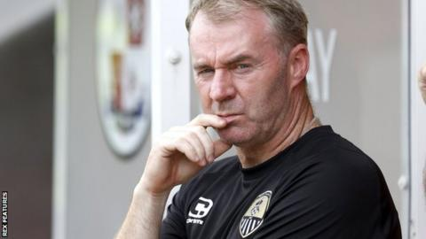 Notts County boss John Sheridan