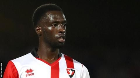 Cheltenham Town striker Mohamed Eisa scored 23 of his 25 goals last season in League Two games