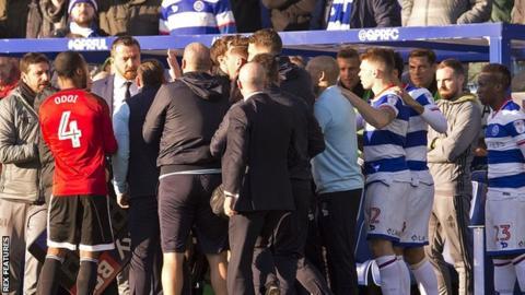 QPR and Fulham clash