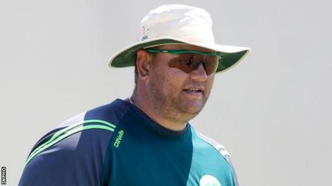Aaron Hamilton led Ireland to two ICC Women's T20 World Cups