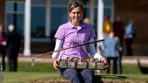 Pia Babnik won the Helen Holm Scottish Women's Open Championship at Royal Troon