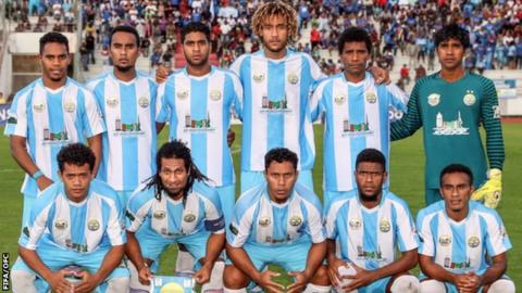 Hienghene Sport squad