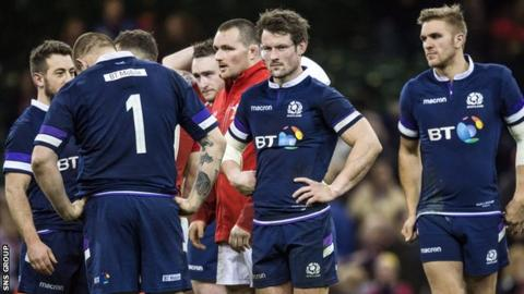 Scotland were hammered by Wales in the opening match of the Six Nations