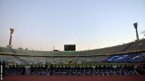 The Cairo International Stadium