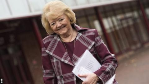Ann Budge has been talking to clubs as she prepares reconstruction plans